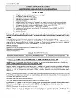 Conseil Municipal 06 juillet 2020