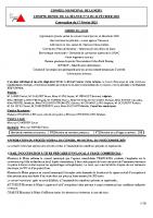 Conseil Municipal 22 Février 2021
