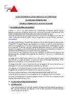 Présentation budget CCAS 2021